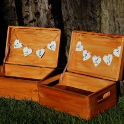 Dřevěná krabička na DARY či PŘÁNÍ