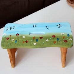 Dřevěná stolička LOUKA