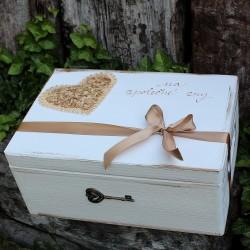 svatební krabička ZLATOTŘPYTKA
