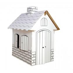 Kartonový domeček pro děti