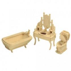 Skládací nábytek pro panenky KOUPELNA