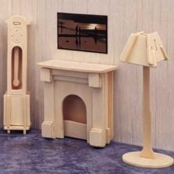 Skládací nábytek pro panenky OBÝVACÍ POKOJ 2
