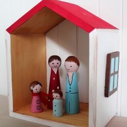 Malý domeček/polička pro panenky