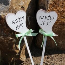 svatební cedulky na focení