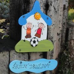Dřevěná cedulka pro školy - družina