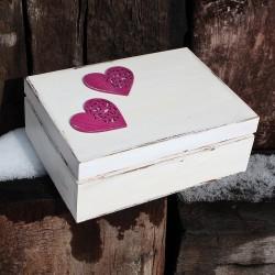 SVATEBNÍ krabička na peníze magnolie