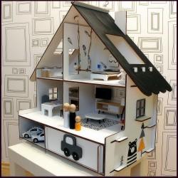 Domeček pro panenky skládací NORDIC