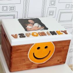 Truhla na vzpomínky dětí - dárek pro maminku