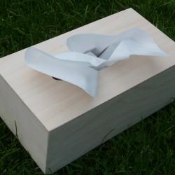VELKÁ krabička na kapesníky polotovar