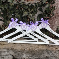 Svatební ramínko pro nevěstu, ženicha, družičky