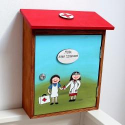 Poštovní schránka - ordinace dětské lékařky