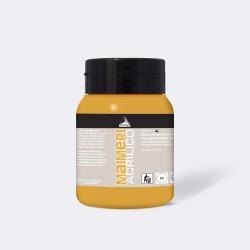 Akrylová barva Maimeri Acrilico 500 ml - yellow deep 114