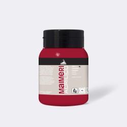 Akrylová barva Maimeri Acrilico 500 ml - carminio 166