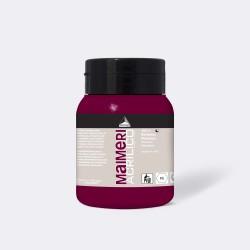 Akrylová barva Maimeri Acrilico 500 ml - bordeaux 165