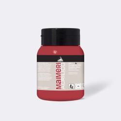 Akrylová barva Maimeri Acrilico 500 ml - vermilione 280