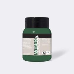 Akrylová barva Maimeri Acrilico 500 ml - zelená permanentní tmavá 340