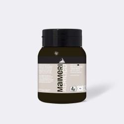 Akrylová barva Maimeri Acrilico 500 ml - karbonová černá 537