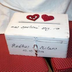 MAXI pokladnička svatební PARIS