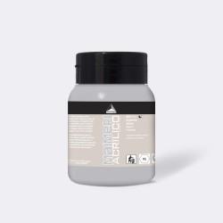 Akrylová barva Maimeri Acrilico 500 ml - stříbrná 003