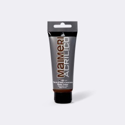 Akrylová barva Maimeri Acrilico 200 ml - umbra pálená 492