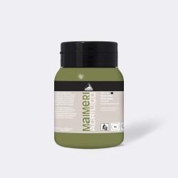Akrylová barva Maimeri Acrilico 500 ml - olivově zelená 331