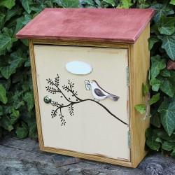 Malovaná poštovní schránka - poštovní holub