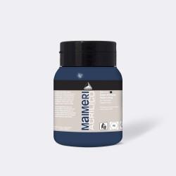 Akrylová barva Maimeri Acrilico 500 ml - Payne´s grey 514