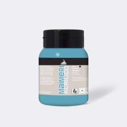 Akrylová barva Maimeri Acrilico 500 ml - tyrkysová 430