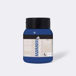 Akrylová barva Maimeri Acrilico 500 ml - modrá základní 400