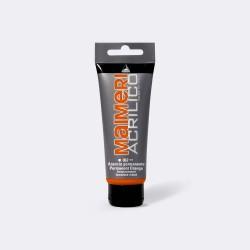 Akrylová barva Maimeri Acrilico 200 ml - oranžová permanentní 062