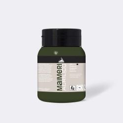 Akrylová barva Maimeri Acrilico 500 ml - zelená Verdaccio 298