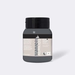 Akrylová barva Maimeri Acrilico 500 ml - šedá tmavá 511