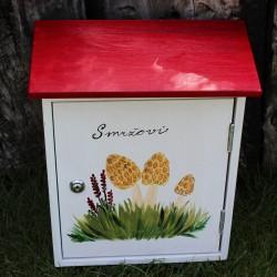 Malovaná poštovní schránka - Smržovi