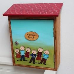 Malovaná poštovní schránka - mateřská škola