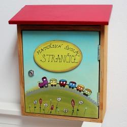 Malovaná poštovní schránka - mateřská škola Strančice
