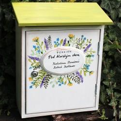 Malovaná poštovní schránka PENZION