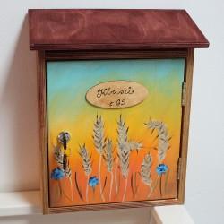 Dřevěná poštovní schránka na míru U KLASŮ
