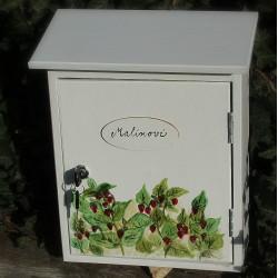 Malovaná poštovní schránka - Malinovi