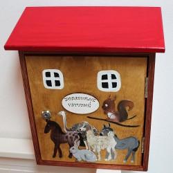 Dřevěná poštovní schránka FARMA