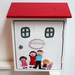 Poštovní schránka šťastná RODINKA