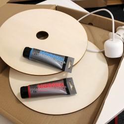Stropní svítidlo DIY - sada vyrob si sám 2ks
