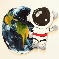 Dekorace kosmonaut