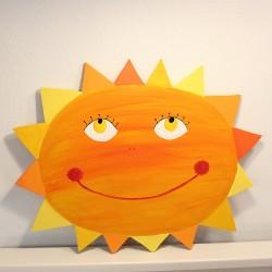 Dekorace na zeď sluníčko