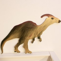 Dekorace na zeď Dinosaurus - Parasaurolophus