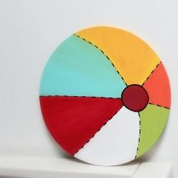 Nástěnná dekorace míč