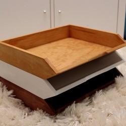 Dřevěný pořadač na dokumenty A4 V LESE