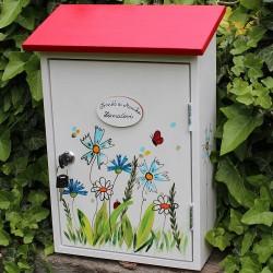 Malovaná poštovní schránka - luční