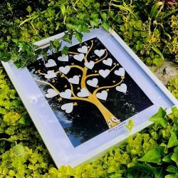 OBRAZ - SVATEBNÍ strom - podpisová kniha hostů