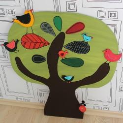 Nástěnná dekorace strom lípa