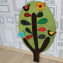 Nástěnná dekorace strom topol
